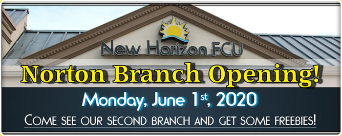 Noryon Branch, Open June 1st